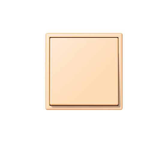 LS 990 in Les Couleurs® Le Corbusier | Schalter 32060 ocre by JUNG | Two-way switches