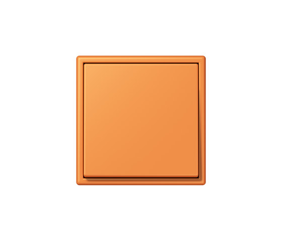 LS 990 in Les Couleurs® Le Corbusier | Schalter 32081 orange clair by JUNG | Two-way switches