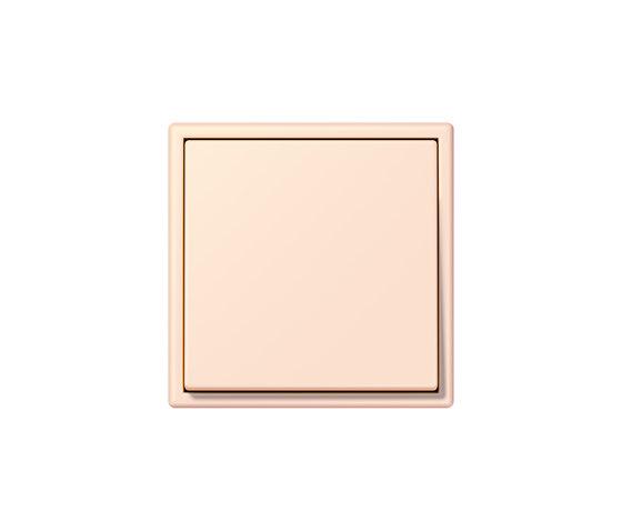 LS 990 in Les Couleurs® Le Corbusier Schalter 32082 orange pâle by JUNG | Two-way switches