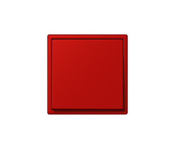 LS 990 in Les Couleurs® Le Corbusier   Schalter 32090 rouge vermillon 31 by JUNG   Two-way switches