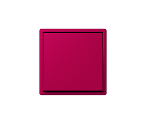 LS 990 in Les Couleurs® Le Corbusier | Schalter 32101 rouge rubia by JUNG | Two-way switches