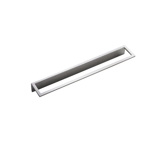Emotion 5 mm towel rail 400 mm by CONTI+ | Towel rails