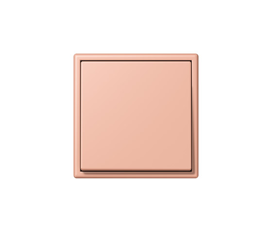 LS 990 in Les Couleurs® Le Corbusier | Schalter 32102 rose clair by JUNG | Two-way switches