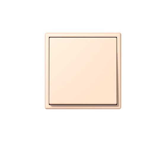 LS 990 in Les Couleurs® Le Corbusier | Schalter 32123 terre sienne pâle by JUNG | Two-way switches