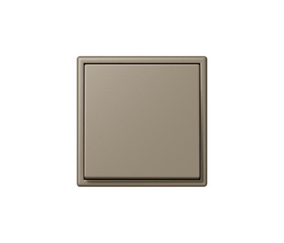 LS 990 in Les Couleurs® Le Corbusier | Schalter 32141 ombre naturelle moyenne by JUNG | Two-way switches