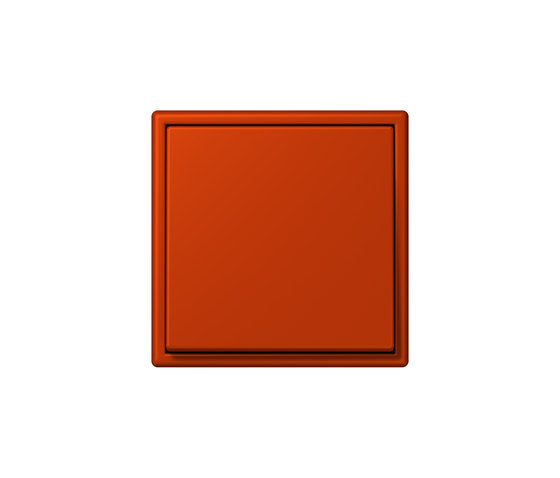 LS 990 in Les Couleurs® Le Corbusier | Schalter 4320A rouge vermillon 59 by JUNG | Two-way switches
