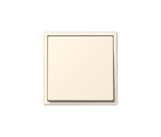LS 990 in Les Couleurs® Le Corbusier | Schalter 4320B blanc ivoire by JUNG | Two-way switches