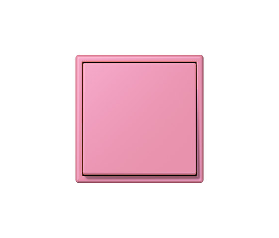 LS 990 in Les Couleurs® Le Corbusier | Schalter 4320C rose vif by JUNG | Two-way switches