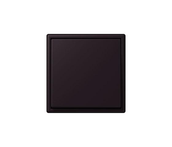 LS 990 in Les Couleurs® Le Corbusier | Schalter 4320E noir d'ivoire by JUNG | Two-way switches