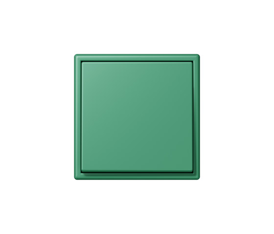 LS 990 in Les Couleurs® Le Corbusier | Schalter 4320G vert 59 by JUNG | Two-way switches