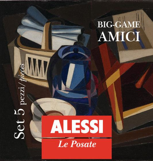 Amici BG02S5 by Alessi | Cutlery