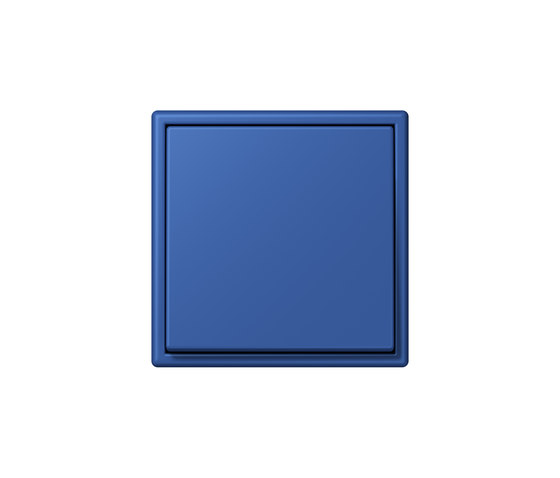 LS 990 in Les Couleurs® Le Corbusier | Schalter 4320K bleu outremer 59 by JUNG | Two-way switches