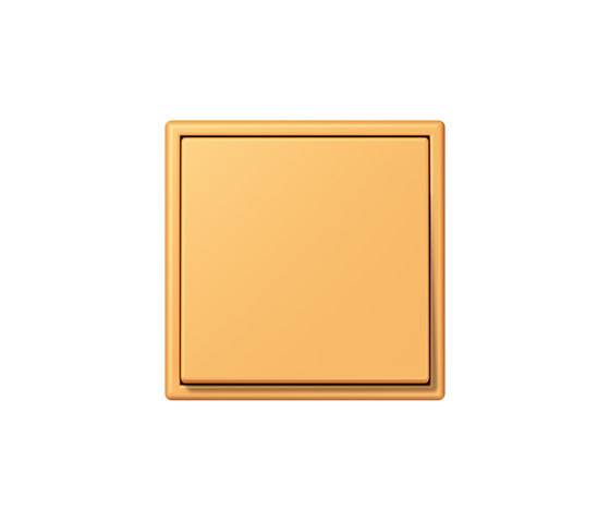 LS 990 in Les Couleurs® Le Corbusier | Schalter 4320L ocre jaune clair by JUNG | Two-way switches