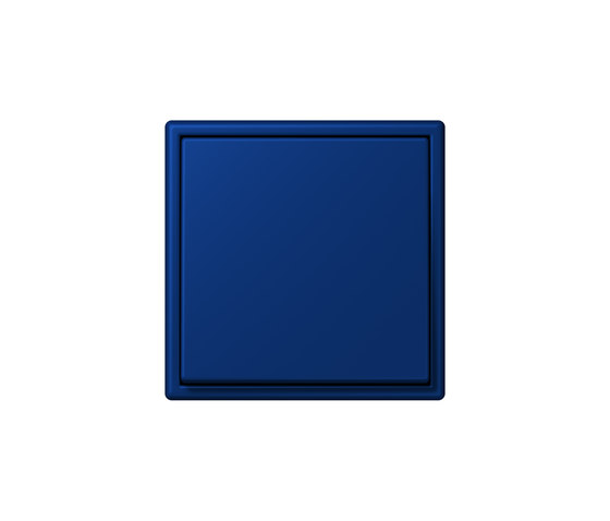 LS 990 in Les Couleurs® Le Corbusier   Schalter 4320T bleu outremer foncé by JUNG   Two-way switches