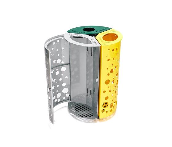 O3 by TF URBAN | Waste seperation bins