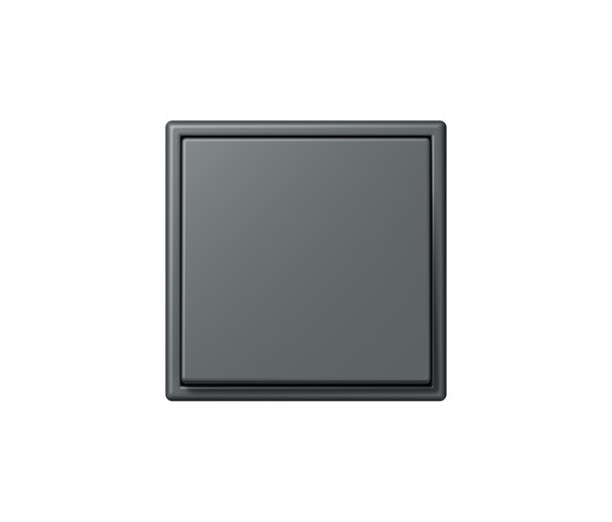 LS 990 in Les Couleurs® Le Corbusier | Schalter 32010 gris foncé by JUNG | Two-way switches