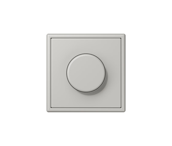 LS 990 in Les Couleurs® Le Corbusier | rotary dimmer 32013 gris clair 31 by JUNG | Rotary switches