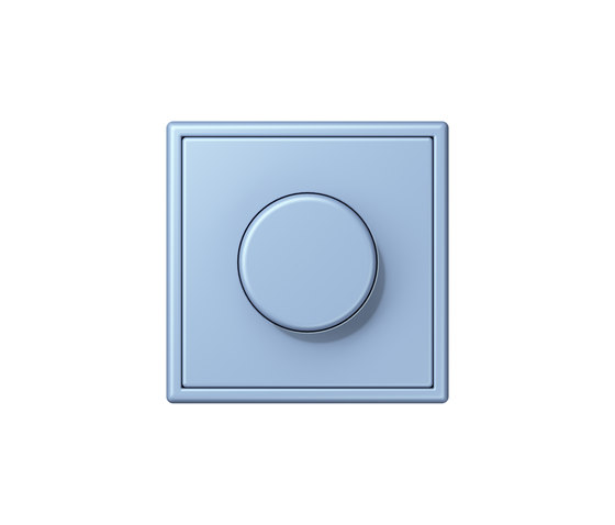 LS 990 in Les Couleurs® Le Corbusier | rotary dimmer 32021 outremer moyen by JUNG | Rotary switches