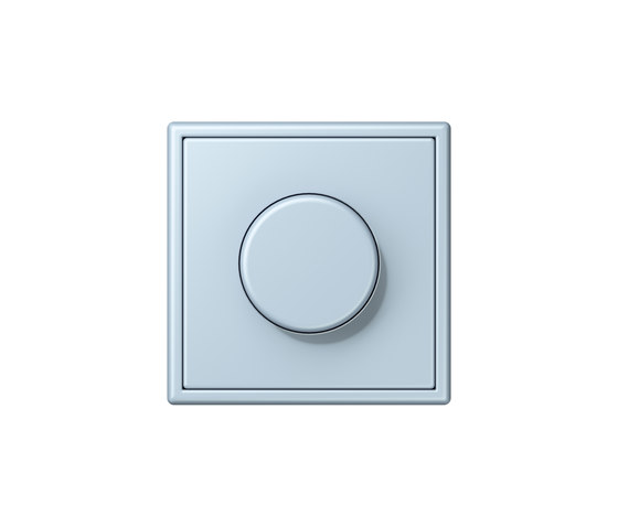 LS 990 in Les Couleurs® Le Corbusier | rotary dimmer 32022 outremer clair by JUNG | Rotary switches