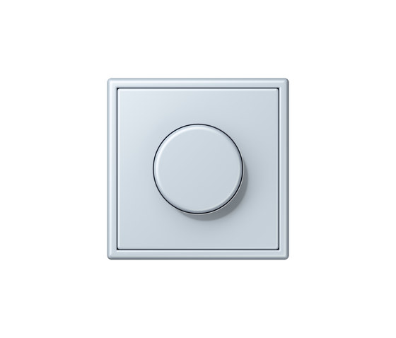 LS 990 in Les Couleurs® Le Corbusier | rotary dimmer 32023 outremer pâle by JUNG | Rotary switches