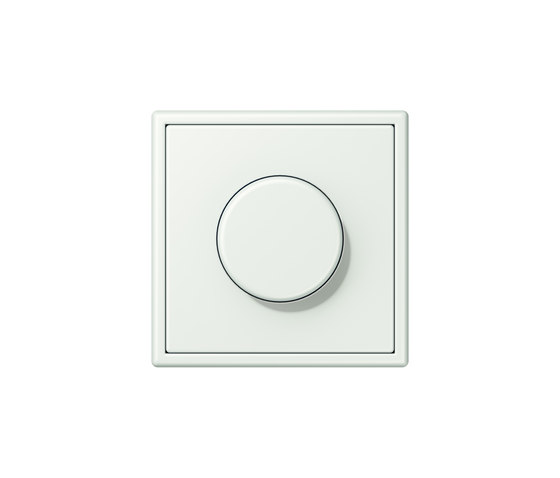 LS 990 in Les Couleurs® Le Corbusier | rotary dimmer 32024 outremer gris by JUNG | Rotary switches