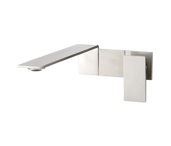 Emotion 5 mm single-lever basin mixer, flush-mounted 230, long lever by CONTI+   Wash basin taps
