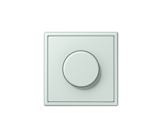 LS 990 in Les Couleurs® Le Corbusier | rotary dimmer 32034 céruléen pâle by JUNG | Rotary switches
