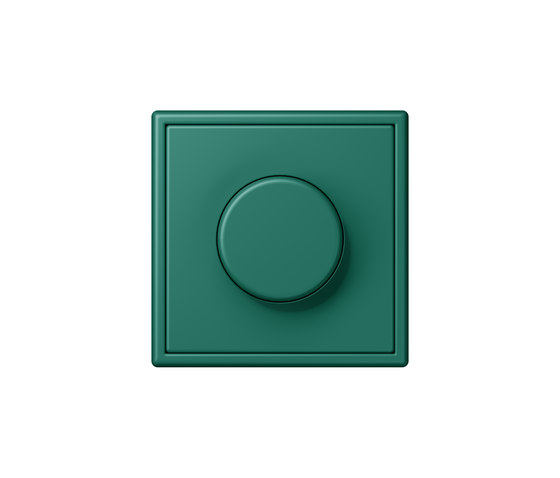 LS 990 in Les Couleurs® Le Corbusier   rotary dimmer 32040 vert anglais by JUNG   Rotary switches