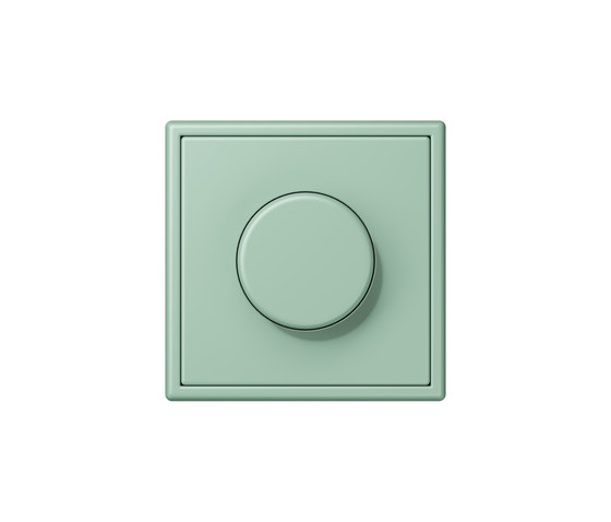 LS 990 in Les Couleurs® Le Corbusier | rotary dimmer 32041 vert anglais clair by JUNG | Rotary switches