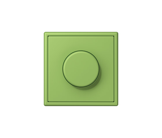 LS 990 in Les Couleurs® Le Corbusier | rotary dimmer 32051 vert 31 by JUNG | Rotary switches