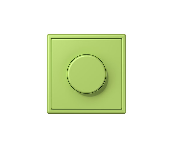 LS 990 in Les Couleurs® Le Corbusier | rotary dimmer 32052 vert clair by JUNG | Rotary switches