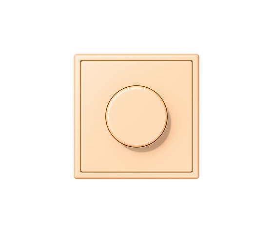 LS 990 in Les Couleurs® Le Corbusier rotary dimmer 32060 ocre by JUNG | Rotary switches