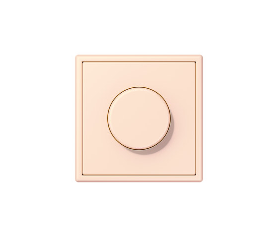 LS 990 in Les Couleurs® Le Corbusier | rotary dimmer 32082 orange pâle by JUNG | Rotary switches