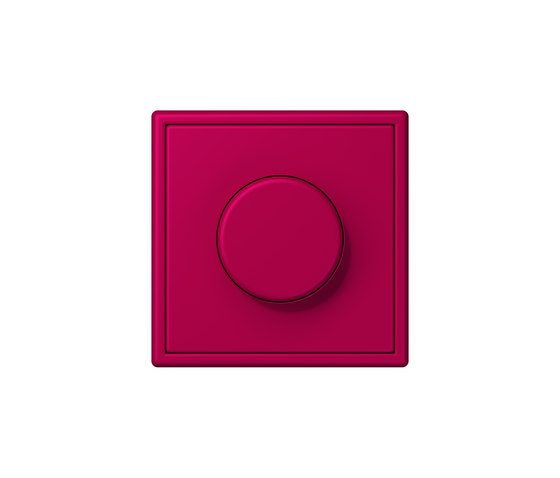 LS 990 in Les Couleurs® Le Corbusier | rotary dimmer 32101 rouge rubia by JUNG | Rotary switches