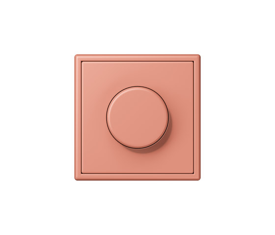 LS 990 in Les Couleurs® Le Corbusier | rotary dimmer 32111 l'ocre rouge moyen by JUNG | Rotary switches