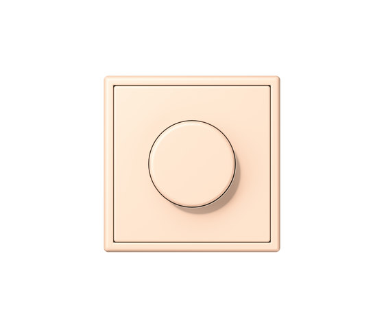 LS 990 in Les Couleurs® Le Corbusier | rotary dimmer 32123 terre sienne pâle by JUNG | Rotary switches