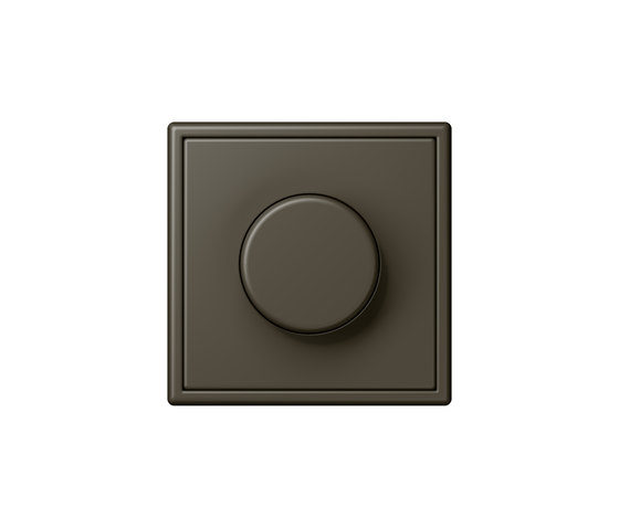 LS 990 in Les Couleurs® Le Corbusier | rotary dimmer 32140 ombre naturelle 31 by JUNG | Rotary switches
