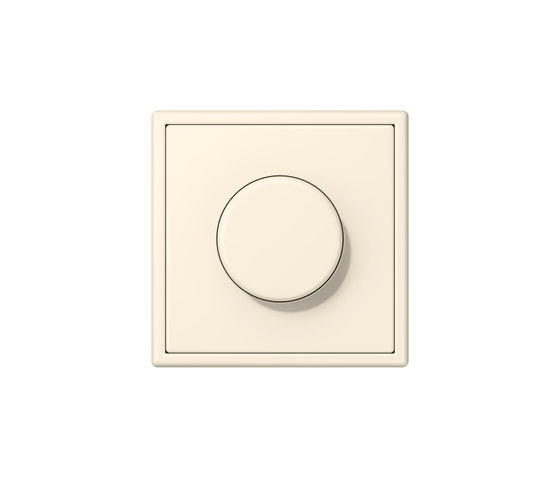 LS 990 in Les Couleurs® Le Corbusier | rotary dimmer 4320B blanc ivoire by JUNG | Rotary switches