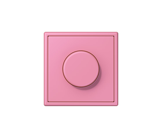 LS 990 in Les Couleurs® Le Corbusier   rotary dimmer 4320C rose vif by JUNG   Rotary switches
