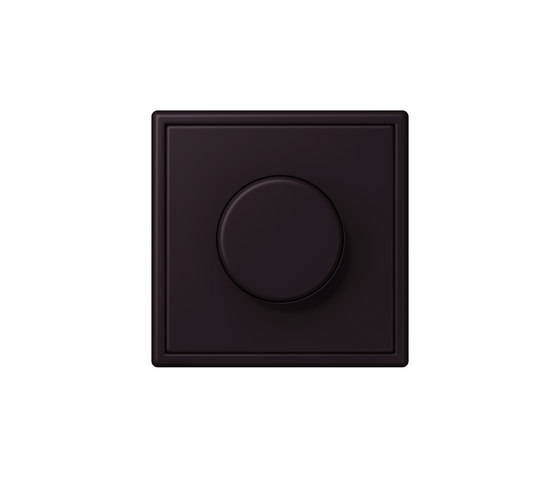 LS 990 in Les Couleurs® Le Corbusier | rotary dimmer 4320E noir d'ivoire by JUNG | Rotary switches