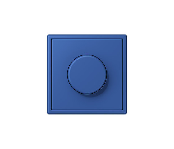 LS 990 in Les Couleurs® Le Corbusier | rotary dimmer 4320K bleu outremer 59 by JUNG | Rotary switches