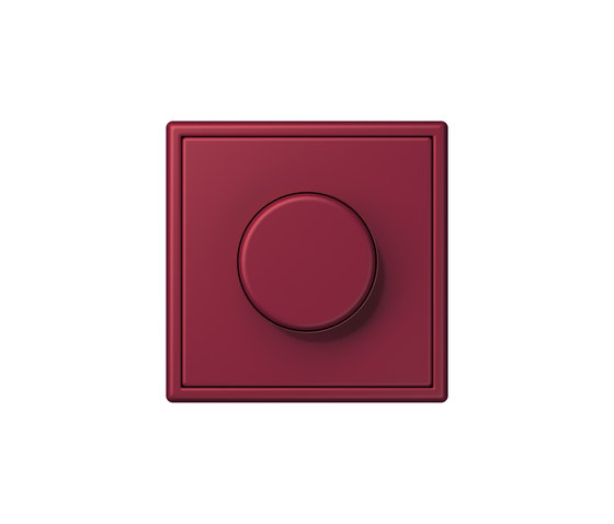 LS 990 in Les Couleurs® Le Corbusier | rotary dimmer 4320M le rubis by JUNG | Rotary switches