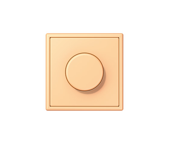 LS 990 in Les Couleurs® Le Corbusier | rotary dimmer 4320P terre sienne claire 59 by JUNG | Rotary switches