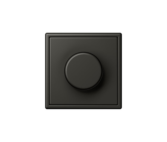 LS 990 in Les Couleurs® Le Corbusier | rotary dimmer 4320R ombre naturelle by JUNG | Rotary switches