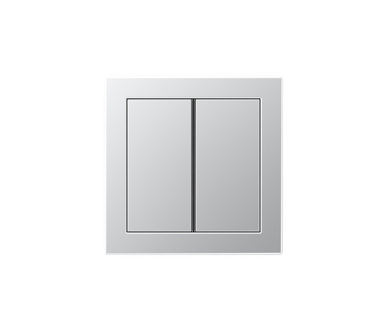 LS Design | F40 push button aluminium by JUNG | Push-button switches