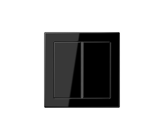 LS Design | F40 push button black by JUNG | Push-button switches