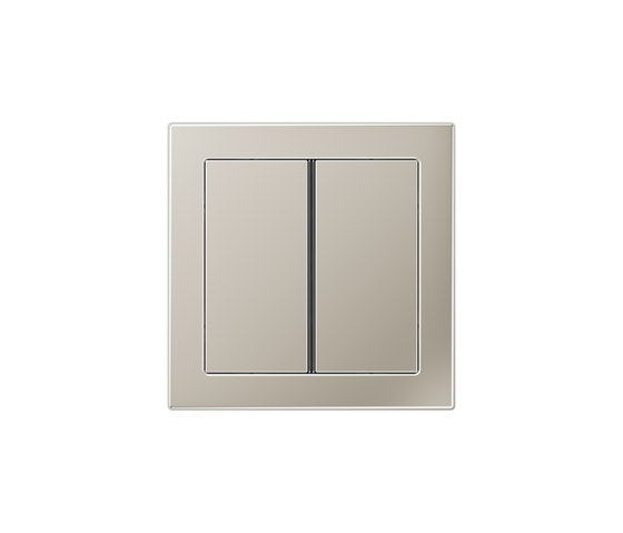 LS Design F40 push button stainless steel de JUNG | Interruptores pulsadores