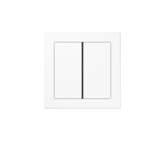 LS Design | F40 push button white by JUNG | Push-button switches