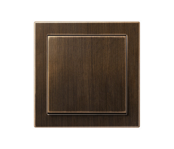 LS Design   switch antique brass by JUNG   Two-way switches