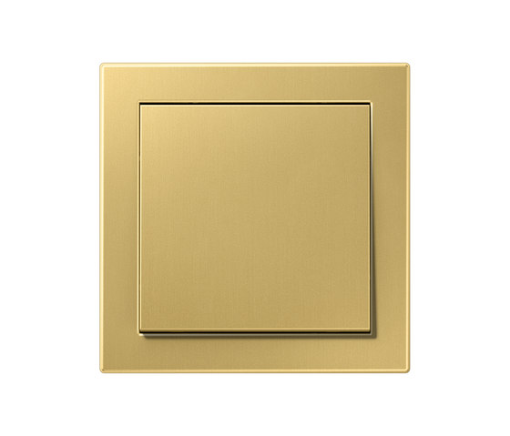 LS Design switch classic brass di JUNG | Interruttore bilanciere